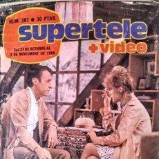 Coleccionismo de Revistas y Periódicos: LOTE 13 REVISTAS SUPERTELE AÑOS 80. Lote 154430270