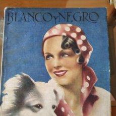 Colecionismo de Revistas e Jornais: REVISTA BLANCO Y NEGRO NÚMERO 2312, DOMINGO 10 DE NOVIEMBRE DE 1935.. Lote 154494676