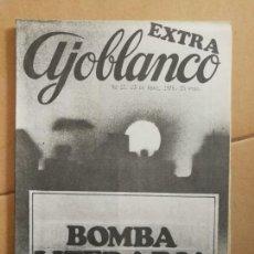 Coleccionismo de Revistas y Periódicos: REVISTA AJOBLANCO. NÚMERO 12. ABRIL 1976... Lote 154503830