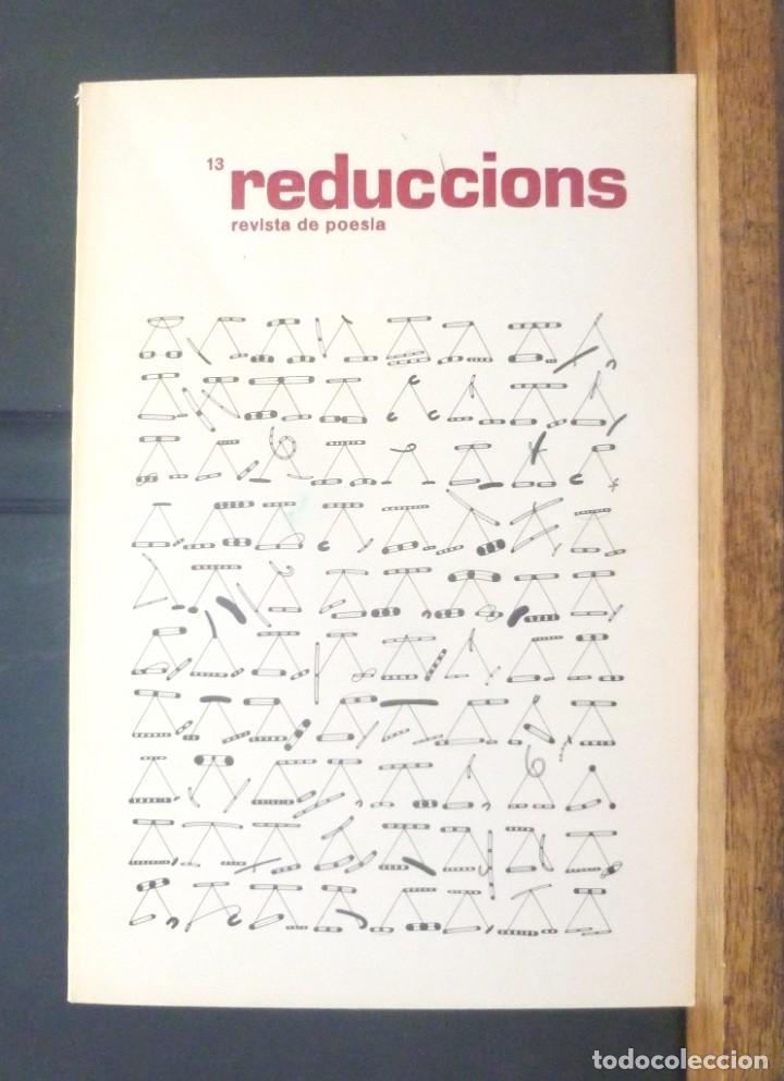 REDUCCIONS 13 REVISTA DE POESIA 1981 VIC (Coleccionismo - Revistas y Periódicos Modernos (a partir de 1.940) - Otros)