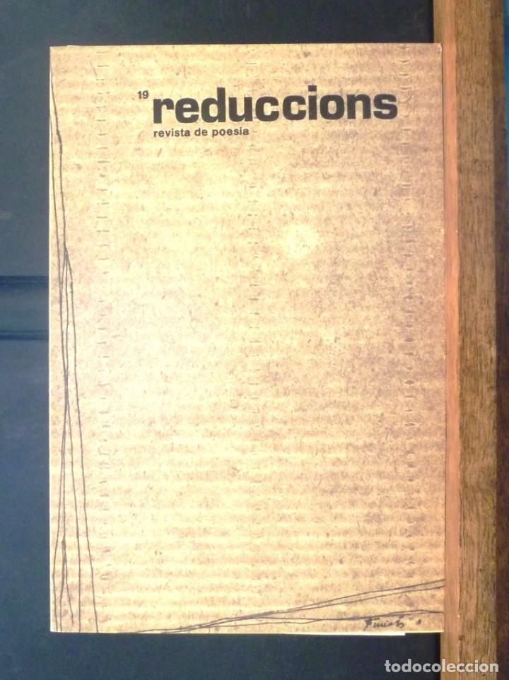 REDUCCIONS 19 REVISTA DE POESIA 1983 VIC (Coleccionismo - Revistas y Periódicos Modernos (a partir de 1.940) - Otros)