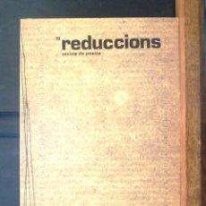 Coleccionismo de Revistas y Periódicos: REDUCCIONS 19 REVISTA DE POESIA 1983 VIC. Lote 154549438