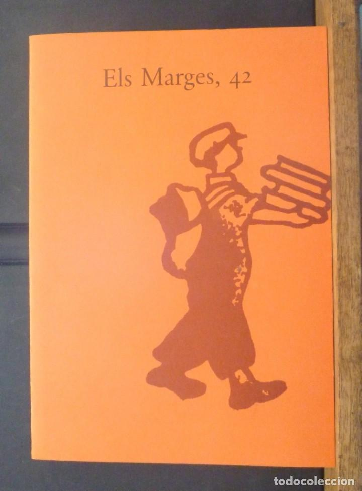 ELS MARGES 42 SALVADOR DALÍ FÈLIX FANÉS POMPEU FABRA JOSEP SEBASTIÀ PONS 1990 REVISTA DE LLENGUA (Coleccionismo - Revistas y Periódicos Modernos (a partir de 1.940) - Otros)