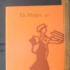 Coleccionismo de Revistas y Periódicos: ELS MARGES 42 SALVADOR DALÍ FÈLIX FANÉS POMPEU FABRA JOSEP SEBASTIÀ PONS 1990 REVISTA DE LLENGUA. Lote 154550882