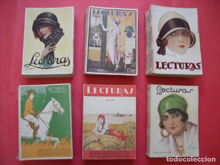 LECTURAS.-REVISTAS.-ARTE.-CULTURA.-LITERATURA.-PUBLICIDAD.-LOTE DE 40 REVISTAS.-AÑOS 20. (Coleccionismo - Revistas y Periódicos Antiguos (hasta 1.939))