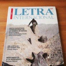 Coleccionismo de Revistas y Periódicos: REVISTA LETRA INTERNACIONAL. NÚMERO 105. 2009.. Lote 154621974