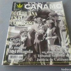 Coleccionismo de Revistas y Periódicos: REVISTA CAÑAMO N° 43. Lote 154662929