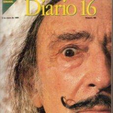Coleccionismo de Revistas y Periódicos: 1989. LOTE ENCUADERNADO DE 15 ÚLTIMOS NROS. DOMINICAL DIARIO16, DE PEDRO J. RÁMIREZ. VER DETALLE.. Lote 154762926