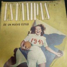 Coleccionismo de Revistas y Periódicos: REVISTA - ESTAMPAS DE UN NUEVO ESTILO - 1941. Lote 154920530