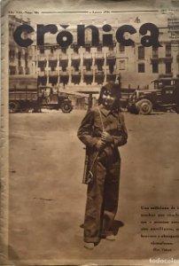 1936 Crónica. Año VIII. Núm 351