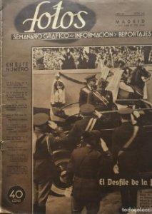1940 Fotos. Semanario gráfico nacional Año IV. Nº 162