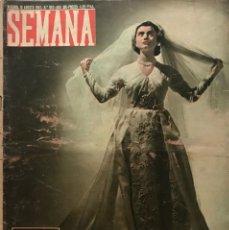 Coleccionismo de Revistas y Periódicos: 1952 REVISTA SEMANA Nº 652 AÑO XIII. Lote 154988638