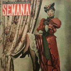 Coleccionismo de Revistas y Periódicos: 1948 REVISTA SEMANA Nº 454 AÑO IX. Lote 154989030