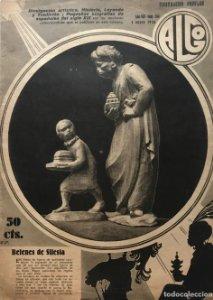 1936 Revista Algo. Ilustración popular Año VIII Núm. 334