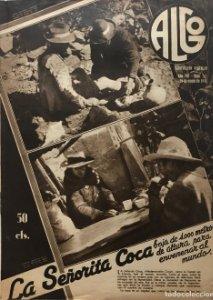 1936 Revista Algo. Ilustración popular Año VIII Núm. 337