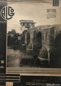 1936 Revista Algo. Ilustración popular Año VIII Núm. 336