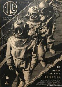 1936 Revista Algo. Ilustración popular Año VIII Núm. 340