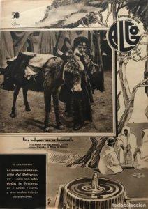 1936 Revista Algo. Ilustración popular Año VIII Núm. 347