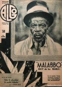 1936 Revista Algo. Ilustración popular Año VIII Núm. 339