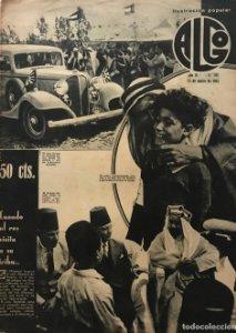 1934 Revista Algo. Ilustración popular Año VI Núm. 261