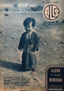 1936 Revista Algo. Ilustración popular Año VIII Núm. 341