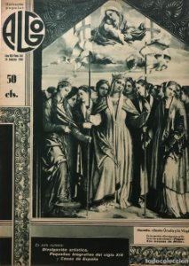 1936 Revista Algo. Ilustración popular Año VIII Núm. 342