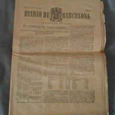 Coleccionismo de Revistas y Periódicos: PERIÓDICO DIARIO DE BARCELONA. DOMINGO 19 JUNIO 1927 (FALTAN CUBIERTA Y PÁG CENTRAL) (MILLAN ASTRAY). Lote 155004522