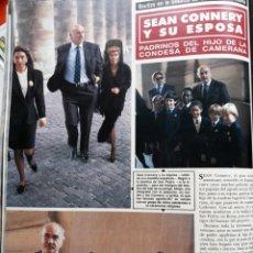 Coleccionismo de Revistas y Periódicos: SEAN CONNERY. Lote 155034878