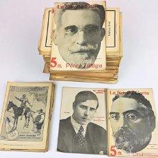 Coleccionismo de Revistas y Periódicos: 31 EJEMPLARES LA NOVELA CORTA. VV. AA. IMPRENTA LA NOVELA CORTA. MADRID 1916. Lote 155101126