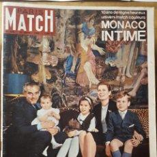 Coleccionismo de Revistas y Periódicos: REVISTA PARIS MATCH, EN FRANCES. NUM. 889. 23 AVRIL 1966.- MONACO INTIME. Lote 155103230