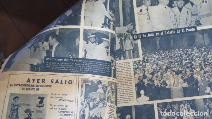 Coleccionismo de Revistas y Periódicos: PERIODICO. ARRIBA. 19 JULIO 1953. 18 JULIO - Foto 3 - 155109130