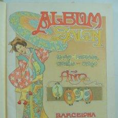 Coleccionismo de Revistas y Periódicos: ALBUM SALON AÑO1899 , PRIMERA ILUSTRACIÓN ESPAÑOLA EN COLORES, BARCELONA, MIGUEL SEGUÍ.. Lote 155123774
