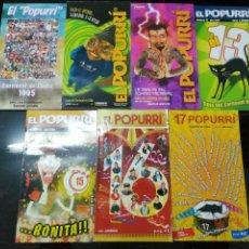 Coleccionismo de Revistas y Periódicos: 7 REVISTA EL PUPURRI REVISTA DEL CARNAVAL DE CADIZ. Lote 155180998