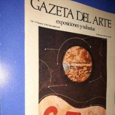 Collezionismo di Riviste e Giornali: GAZETA DEL ARTE. EXPOSICIONES Y SUBASTAS. AÑO I-NUMERO 13.. Lote 155219974