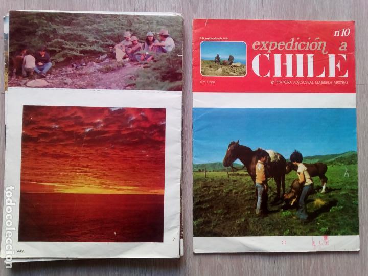 Coleccionismo de Revistas y Periódicos: EXPEDICION A CHILE. Editora Nacional Gabriel Mistral. N.1 hasta 10 - Foto 2 - 155229694