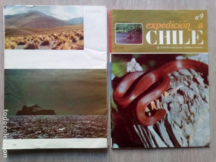 Coleccionismo de Revistas y Periódicos: EXPEDICION A CHILE. Editora Nacional Gabriel Mistral. N.1 hasta 10 - Foto 4 - 155229694