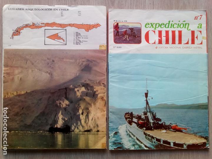 Coleccionismo de Revistas y Periódicos: EXPEDICION A CHILE. Editora Nacional Gabriel Mistral. N.1 hasta 10 - Foto 5 - 155229694