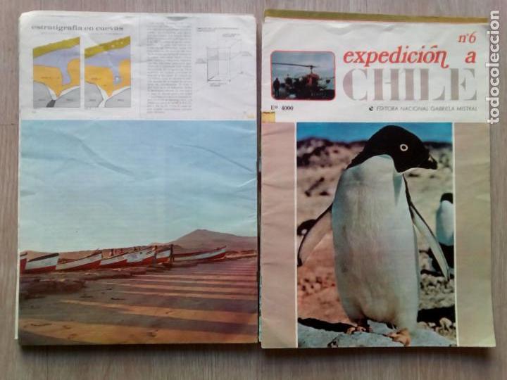 Coleccionismo de Revistas y Periódicos: EXPEDICION A CHILE. Editora Nacional Gabriel Mistral. N.1 hasta 10 - Foto 6 - 155229694