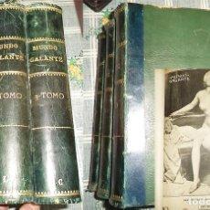 Coleccionismo de Revistas y Periódicos: REVISTA GRÁFICA MUNDO GALANTE 3 TM 1.912-1.914 DEL N.º 1 AL 111 + MUNDO ADELANTE 1.912/13 N.º 1-11. Lote 155422662