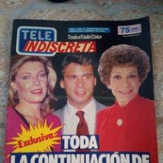 Coleccionismo de Revistas y Periódicos: TELE INDISCRETA Nº 72 COMPLETA. Lote 155455662
