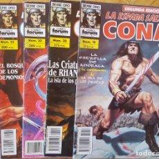 Coleccionismo de Revistas y Periódicos: LOTE DE LA ESPADA SALVAJE DE CONAN, SEGUNDA EDICIÓN (5 NÚMEROS - TAMBIÉN SUELTOS). Lote 155463042