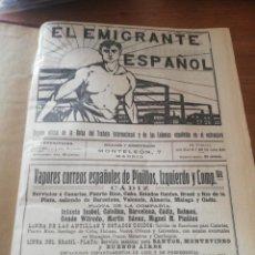 Coleccionismo de Revistas y Periódicos: EL EMIGRANTE ESPAÑOL. DEL 85 DEL AÑO V AL 131 DEL AÑO VI. Lote 155478046