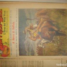 Coleccionismo de Revistas y Periódicos: BUFFALO BILL NºS 41 A 60. ED. NERBINI 1923. EN ITALIANO. RAROS. PORTES GRATIS.. Lote 155499134