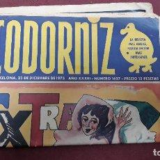 Coleccionismo de Revistas y Periódicos: REVISTA LA CODORNIZ. 23 DIC. 1973. AÑO XXXIII. Nº 1657. Lote 155512442