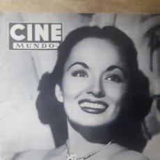 Coleccionismo de Revistas y Periódicos: REVISTA CINE MUNDO.- NUM. 58. 25 ABRIL 1953.- EN MARCHA EL VI FESTIVAL DE CANNES.- ANN BLYTH. Lote 155517706