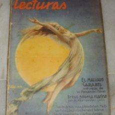 Coleccionismo de Revistas y Periódicos: LECTURAS. JULIO DE 1931.. Lote 155606922