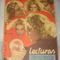 Coleccionismo de Revistas y Periódicos: LECTURAS. AGOSTO DE 1931. EDWINA BOTH EN PORTADA.. Lote 155607174