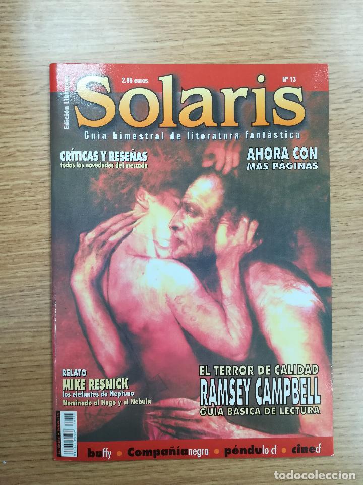 SOLARIS #13 (Coleccionismo - Revistas y Periódicos Modernos (a partir de 1.940) - Otros)