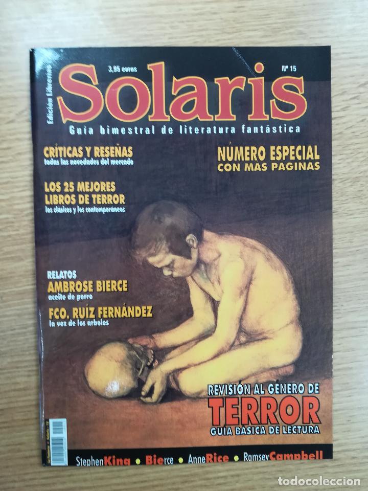 SOLARIS #15 (Coleccionismo - Revistas y Periódicos Modernos (a partir de 1.940) - Otros)
