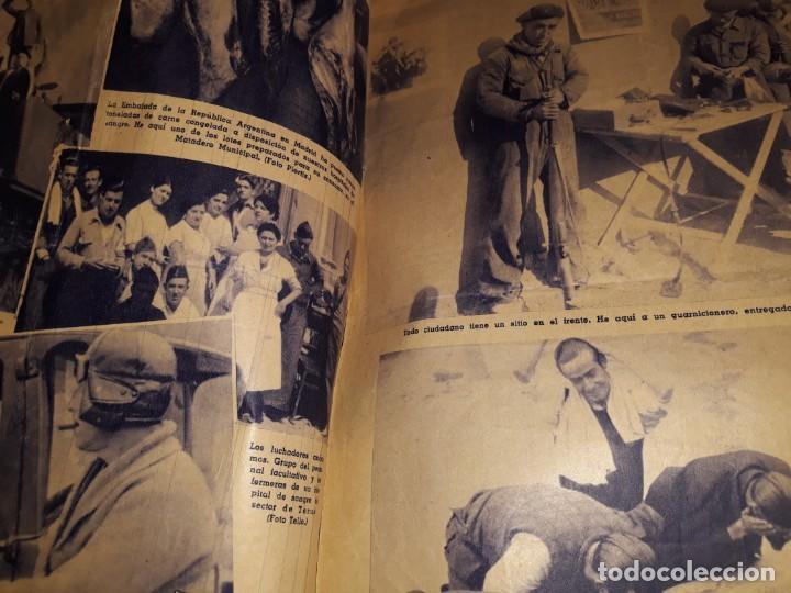 Coleccionismo de Revistas y Periódicos: PERIODICO ABC DIARIO REPUBLICANO IZQUIERDAS GUERRA CIVIL CRISTO FOTOS MILICIANOS TREN ENFERMERAS - Foto 2 - 155652298